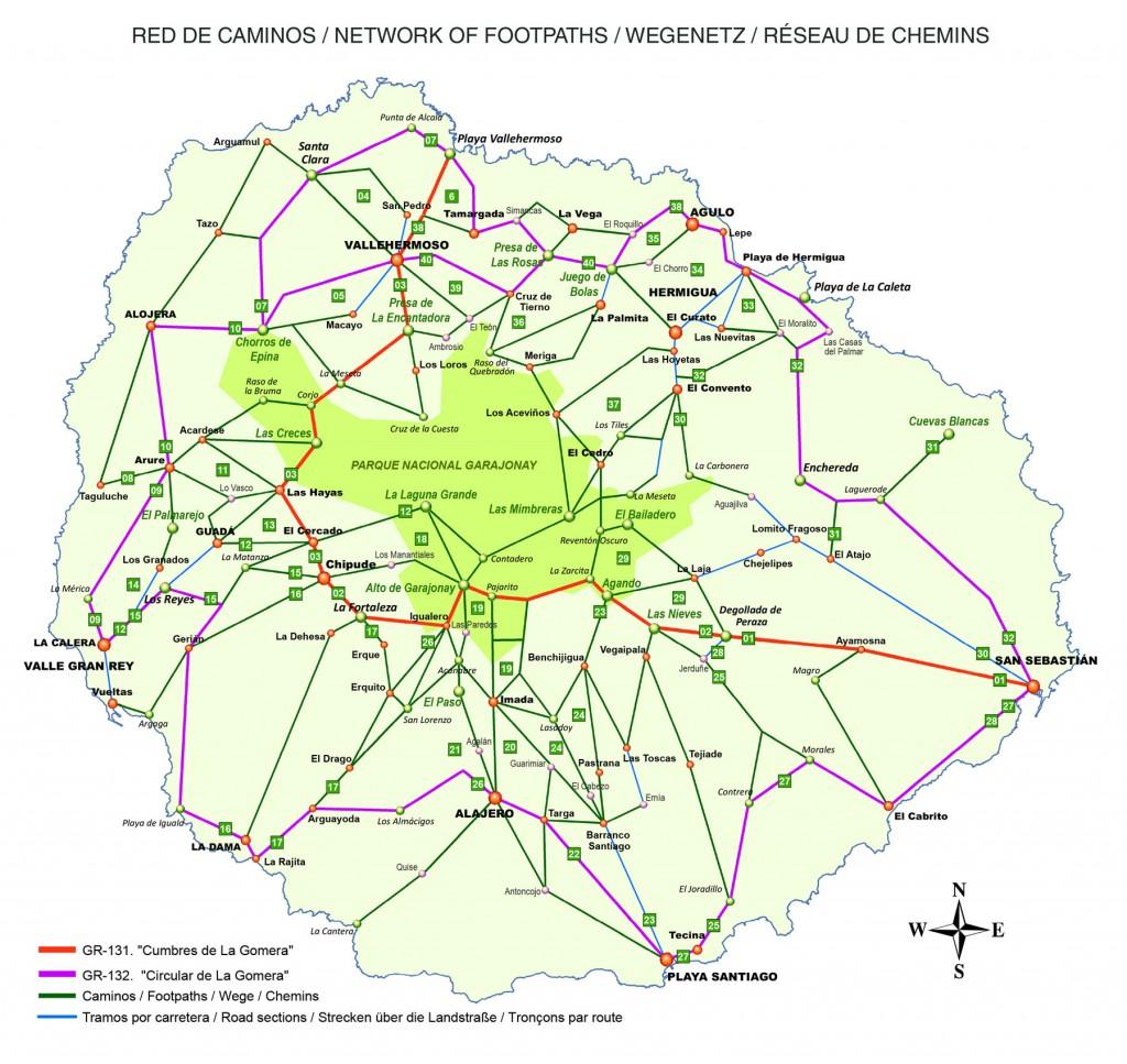 mapa-red-senderos-la-gomera